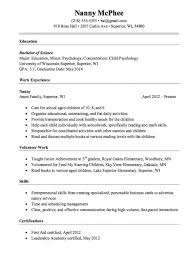 Nanny Resume Beauteous Download Our Sample Of Nanny Resume Sample Templates Wwwmhwaves