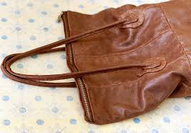 leather bag top