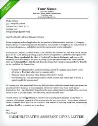 Application Cover Letter Sample For Free Cover Letter Template Examples