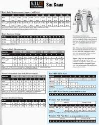 5 11 Tactical Ems Pants Size Chart Best Picture Of Chart