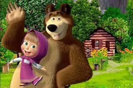 high resolution masha and the bear