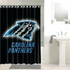 ina panthers shower curtains panthers football shower curtain waterproof bathroom decor home ideas centre petone home