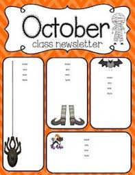 october newsletter ideas 16 best newsletter format images newsletter format newsletter