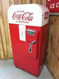 Vending Machine Restoration Parts Inspiration Vintage Coca Cola Vending Machine Vintage Soda Machine Retro Coke