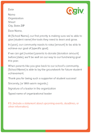 Thank You Letter For Donations Adorable 48 Awesome And Effective Fundraising Letter Templates