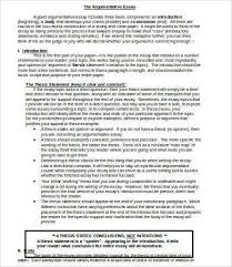 microsoft word essay template 9 free