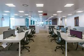pwc london office. Open Plan Office With Vacant Workstations Pwc London