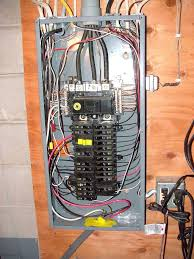 what is a main breaker sub panels service panels smaller in amperage size electrical