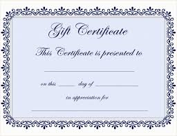 gift certificate templates best of certificate template word editable copy template editable