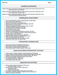 Professional Affiliations On Resume Free Resume Example And