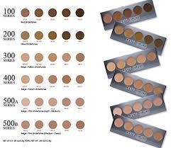 cinema secrets ultimate foundation 5 in 1 pro palette 100 series