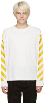 Moncler O White Striped Sleeves T-Shirt men,sale moncler coats,incredible  prices