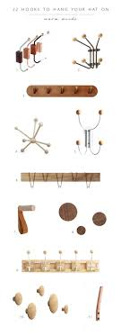 2 Hook Coat Rack Roundup 100 Hooks to Hang Your Hat On coco kelley coco kelley 52