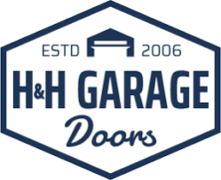 hh garage door logo