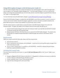 Sas Ods Graphics Designer Using Ods Graphics Designer With Sas Enterprise Guide 4 3