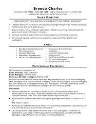 Sales Director Sample Job Description Resume Retail Manager Senior
