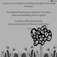 Roots Quotes Adorable Guess Our Roots Weren't R Quotes Writings By Rupali Kumari