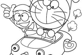Do you wonder what his dream was about? Coloring Pages Doraemon And Nobita Coloring Pages