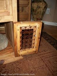 How to make a dog crate Table Dogcratetableirondoorjpg Newsgazettecom How Made Dog Crate Table For My Dachshund From An Old Piece Of