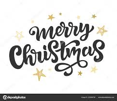 Merry Christmas Banner Print Merry Christmas Web Banner Poster Greeting Card Template Stock