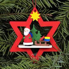 Stern Christbaumschmuck Weihnachtsmann Weihnachtsbaumschmuck