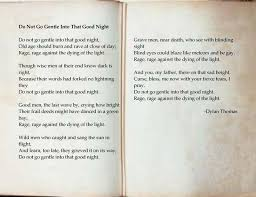 the best dylan thomas poems ideas dylan thomas  do not go gentle into that good night