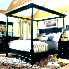 king size wood canopy bed – opcregiondemurcia.org