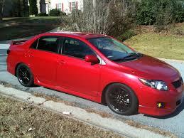 Modified Toyota Corolla Altis sedan (10th generation, E140) rear ...