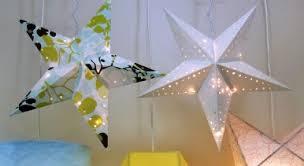paper star lanterns
