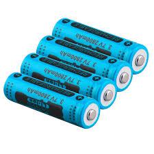 GTF <b>3.7V</b> 2800mah <b>14500 Battery Li ion</b> Rechargeable <b>Battery</b> LED ...