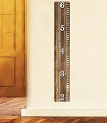 Nursery Decals And More Weathered Wooden Ruler Growth Chart Wood Ruler Height Chart Wall