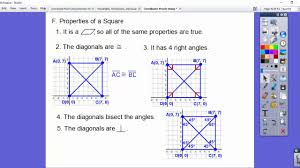 coordinate proofs using distance with quadrilaterals module 2 4
