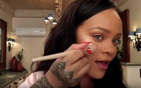 rihanna did a no bull makeup tutorial for vogue ft her contouring hacks