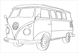 13 Surf Drawing Bus Volkswagen For Free Download On Ayoqqorg