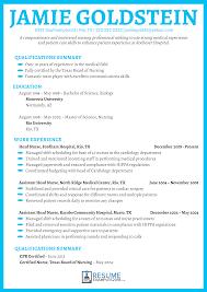 Nursing Resume Examples 2018 For Great Cv Writing Hospital Volu