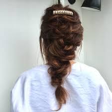 結婚式2次会お呼ばれ編み下ろしヘアアレンジ 地下鉄成増の美容院