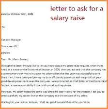 Salary Increase Template Salary Resume Template Free Sample