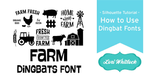 Dingbat Fonts For Designers How To Use Dingbat Fonts In Silhouette Studio