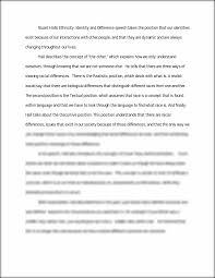hall essay stuart halls ethnicity identity and difference speech this preview has intentionally blurred sections sign up to view the full version