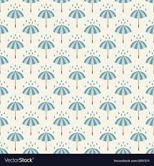 Drops Patterns Amazing Seamless Pattern With Umbrellas And Rain Drops Vector Image