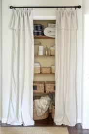 Open Closets Small Spaces Best 25 Closet Door Alternative Ideas Only On Pinterest Closet