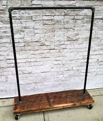 Heavy Duty Coat Rack Stands Very Cool Industrial Clothes Rack House Junkie With Regard To 32