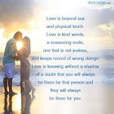 Love Is Quotes Adorable Love Is Beyond Sex And Physical Marriage Quotes