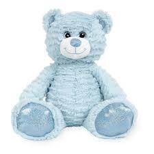 Animal Alley 12 inch Stuffed Teddy Bear - Light Blue