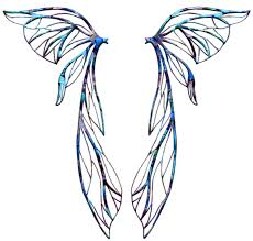 Fairy Wings Template Clip Art Library