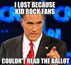 Farce the Music: Why Mitt Romney Lost (meme) via Relatably.com