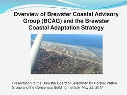 Overview Of Brewster Coastal Advisory Group Bcag And The