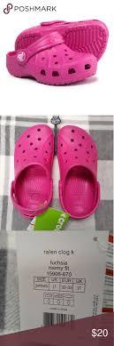 Crocs Kids Ralen Clog K Fuchsia J1 Ralen Clog K Color