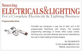 fulham lighting global intelligent, sustainable press coverage Fulham Workhorse 2 Wiring Diagram dec 2015 sourcing electricals & lighting product showcase workhorse led programmable drivers fulham workhorse 2 wiring diagram