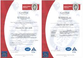 Owned Certificates Nutrend Supplements